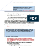 Presentation notes from Glenn Krizay, director of the Defense Forensics and Biometrics Agency. June 2019.