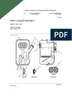 Especificaciones Sistema HidraulicoR2900G SCOOP TRAMS