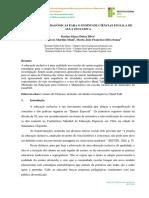 ESTRATÉGIAS PEDAGÓGICAS PARA O ENSINO DE CIÊNCIAS EM SALA DE  AULA INCLUSIVA