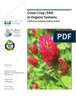 Cover Crop in Organic Systems--California Implementation Guide