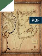 Mordor - Adventurer's Map