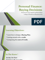 3 Buying Decisions