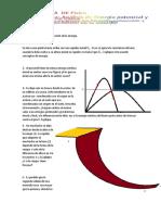 GUÍA Análisis de Energia Potencial y Conservación de La Energía