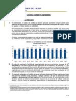 Liquidez y crédito en la economía peruana.