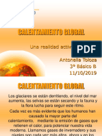 Calentamiento Global Antonella Toloza