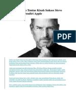 Mengungkap Tuntas Kisah Sukses Steve Jobs.docx