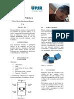 Reporte de Práctica Puente H Con Relevadores