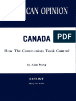 Alan Stang, CANADA How The Communists Took Control (1971)