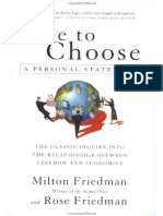 Milton Friedman Free to Choose