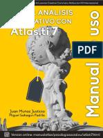Cómo Hacer Análisis Cualitativo Con Atlas.ti Muñoz Justicia