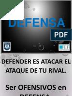 3. LA FORMACIÓN TÁCTICA - DEFENSA.ppt