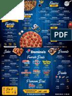 menu dominos