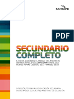 PROGRAMA SECUNDARIO COMPLETO-  Ejes de Acci+¦n Agosto 2017- Marzo 2018