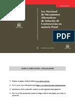 LIBRO Comentarios a La Ley Nacional de Mecanismos Alternativos de Solución de Controversias