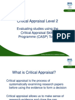 Critical Appraisal Level 2 Yc Nes Template