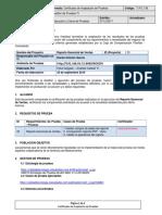 QM050 Certificado de Aceptacion de Pruebas -Reporte Gerencial de Ventas