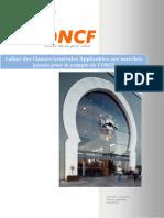 Cahier Des Clauses Generales AP - OnCF