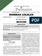Decreto Supremo Que Disuelve El Congreso de La Republica y c Decreto Supremo n 165 2019 Pcm 1812451 Legis.pe