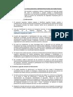 Lineamientos generales para fisca