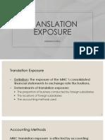 10 - Translation Exposure