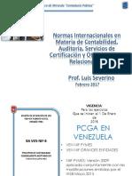 PCGA Y NORMAS DE AUDITORÍA EN VENEZUELA