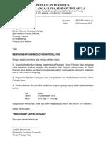 Surat Permohonan Bantuan Bomba Sukarela 2019