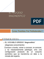 El Proceso Diagnóstico
