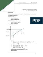 Ecuaciones Nolineales -I