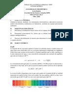 Informe análisis electrométrico