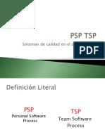 TSP y PSP