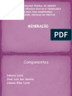 Slide Mineração net