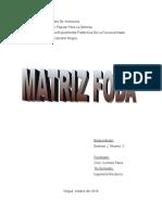 Matriz F.O.D.A