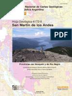 Hoja Geológica san Martín