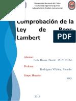 Ley Lambert - Beer