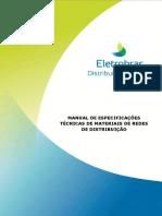 MANUAL DE PROCEDIMENTOS DE REDES DE DISTRIBUICaO - ESPECIFICACOES TECNICAS DE MATERIAIS.pdf