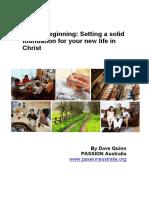 Discipleship Booklet