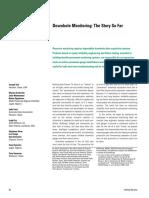 El monitoreo de yacimientos