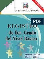 Registro 1er Nivel Basico