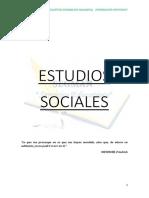 Modulo Sociales Agosto - Octubre 2019