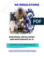 TR-Electrical Installation and Maintenance NC III