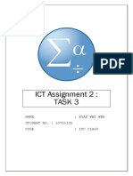 SPSS ICT Assignment