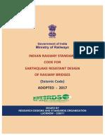 IRS Seismic Code 2017-R1