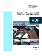 Public Ferry Wharf Safety Assessment