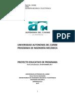 Pep Ingeniería Mecanica Version Noviembre 30 de 2017