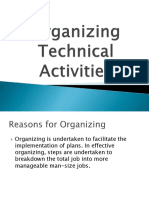 Chapter 4 Organizing Technical Activities