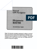 SHIPMATE GPS RS5700 MANUAL PDF