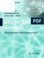 Design Thinking Research - Taking Breakthrough Innovation Home