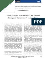 Journal Family presence