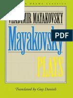 [European Drama Classics] Vladimir Mayakovsky - Plays (2017, Northwestern University Press).epub