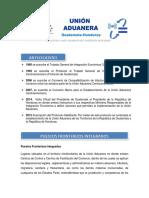 Información General Union Aduanera Guatemala Honduras
